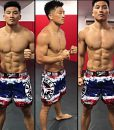phuket top team mma shorts
